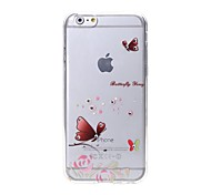 Latest  Nabi Pattern Swarovski Diamond High Quality Laser Relief Touch Phone Case for iPhone 6plus / 6S plus