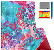 LEXY® Colorful Totem Pattern PU Leather Flip Stand Case with Screen Protector and Stylus for iPad Air 2/iPad 6