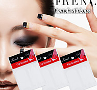 1Set French Smile Line Nail Sticker  Foreign Hot 23(A Set Of 48 Stick)
