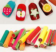 10pcs Cute Nail DIY Clay Tablets Random Color