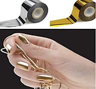 1pcs Nail Gold Foil Paper