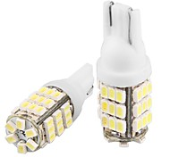 2 * T10 W5W 168 194 White 42 SMD LED Side Light Bulb Lamp