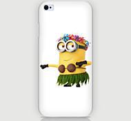 porter le cas des gens de fleurs modèle PC Phone cas de couverture arrière pour iPhone6 plus / 6s en plus