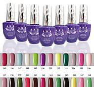 1 PCS ANA 192 Colors Gelpolish Nail Art Soak Off UV Nail Gel Polish 15ml 145-168