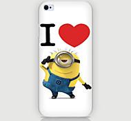 amour motif PC Phone affaire couvercle du boîtier pour iPhone6 plus / 6s en plus