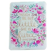 Flower Painted TPU Tablet computer case for ipad2/3/4