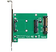 MAIWO SATA TO mSATA Card Card Convertor Card KT006A