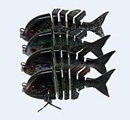 """4 pcs Señuelos duros fantasma 5 g/16 Onza,80 mm/2-1/2"""" / 2-5/8"""" pulgada,Plástico duroPesca de Mar / Pesca a la mosca / Pesca de"""