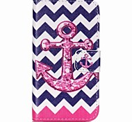 Anchor Painted PU Phone Case for Galaxy J1 Ace/J2/J1