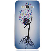 Dancing Pattern On Transparent TPU Material Printing Phone Case for Samsung Galaxy J1 Ace/J2/On5/On7