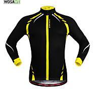 Wosawe Radsport Oberteile / Jacke / Trikot Unisex FahhradWindundurchlässig / warm halten / Reflexstreiffen / Antirutsch / Fleece