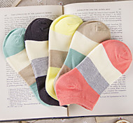 Casual Unisex Socks High Quality Cotton Fashion Breathable Sport Short Socks Classic Candy Color Mosaic