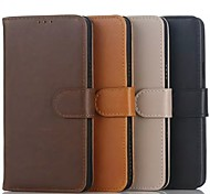 Flip Case Crazy Horse Wallet Case Support Simple PU Mobile Phone Shell for Samsung ON5/ON7 Assorted Colors