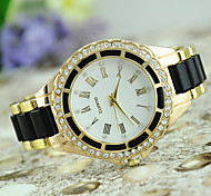 European Style Fashion Rhinestone Drops of Oil of Rome Digital Watch Gift