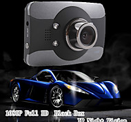 Mini Black Box 3.0'TFT FullHD 1080P Car Dvr Camcorder With IR Night Vision 170 Degree G-sensor Novatek Chip