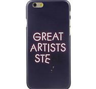 grande qualité et le bon disque cas de motif de prix pour iphone 6 / 6s
