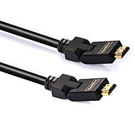 Shengwei®HC HDMI Ver1.4 Cable Connector 180° Rotatable Blueray 3D HDTV XBOX PS3 2M