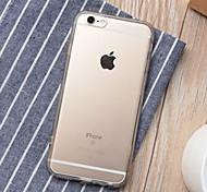 TPU étui transparent pour 6s iphone 6 / iphone