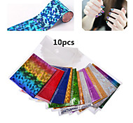 10pcs Nail Star Nail Stickers Random Color