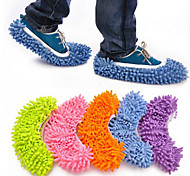 2pcs/set  Multifunction Absorbent Wipe Slippers Sets Random Color