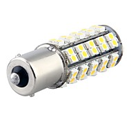 2 x 1156 1210 BA15S 68 SMD 3528 LED Warm White Tail Turn Stop Parking Light Lamp