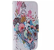 Underwater World Painted PU Phone Case for iphone4/4S
