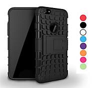 Caso 2 in 1 a due colori staccabile tpu + pc ibrido con kickstand per iphone 6 / 6s (colori assortiti)
