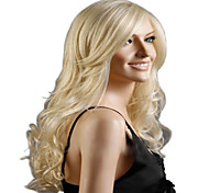 Superior In Quality Anf Reasonable In Price  Blonde Long  Syntheic Wave  Wig