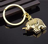 elefante llavero llavero pareja dones creativos regalo de cumpleaños novia llavero elefante de oro