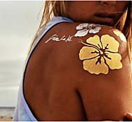 9 Tatuajes Adhesivos Otros Non Toxic ModeloMujer Hombre Adulto flash de tatuaje Los tatuajes temporales