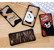 The New Waistline Combo Japan Bear and Milk Cases for iPhone6/iPhone 6s(Assorted Colors)
