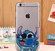 New Fashion 3D Cartoon Hit Face Pattern TPU Soft Cover for iPhone 6/6S