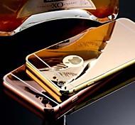 покрытие зеркала объединительную плату плюс сплава рама случай телефона для Iphone экологической 6 плюс / 6с плюс (ассорти цветов)