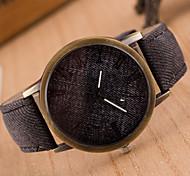 Woman Canvas Strap Wrist  Watch