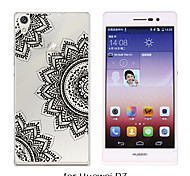 MAYCARI®Mandala's Joy Soft Transparent TPU Back Case for Huawei P7/P8