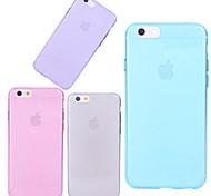 reine Farbe TPU Tasche für iPhone 6 / iphone 6s (verschiedene Farben)