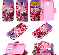 Christmas Gift Good Quality Pu+TPU Design Mobile Phone Cover for Samsung Galaxy S5 Mini Assorted Colors