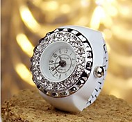 Vintage Style Skull Shape Alloy Hot Sales Ring Watch(Random Color)(1Pc) Cool Watches Unique Watches