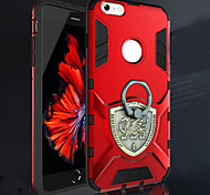 New Ring Thor Series Metal Shell Ku Tide Cover Case for iPhone 6/6S
