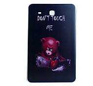 Chainsaw Bear Painted TPU Tablet computer case for Galaxy Tab  E 9.6/Tab A 9.7/Tab 4 10.1