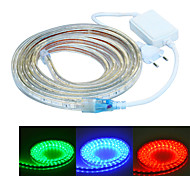 jiawen 500CM Waterproof  30W  300-5050SMD 8-Mode  RGB LED Flexible Light Strip (AC110~220V)