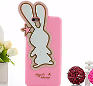Cartoon Big Ears Rabbit Soft Shell for iPhone6/iPhone 6s(Assorted Colors)