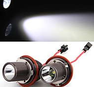 2 *H8 10W LED CREE Angel Eye Light White for BMW E39 E53 E65 E66 E60 E61 E63 E64