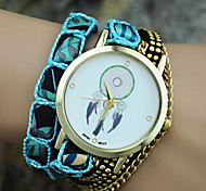 Ladies' New Fashion Dreamcatcher Campanula Wrist Watch Bracelet Watch Cool Watches Unique Watches