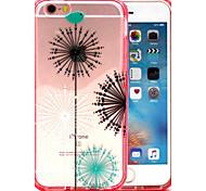 2-in-1 Doppelfarbfeuerwerk Muster TPU rückseitige Abdeckung mit pc Autostoßfest Hülle für iPhone 6 / 6S