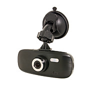 "D2-1 HD 1080P 2.7"" TFT Classic Shape Light Car DVR Suction Cup Mount"