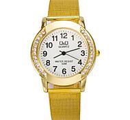 Ladies' Fashion Watch High Quality Diamond Small Fresh Women's Casual Belt Quartz Watch