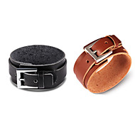 Vintage / Casual Leather Bracelet
