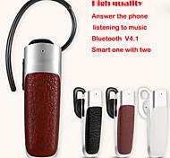 senza fili auricolare bluetooth v4.0 stile earhook auricolare stereo con il mic per iphone samsung tablet pc cellulare