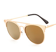 Sunglasses Men / Women / Unisex's Elegant / Retro/Vintage / Fashion Square Silver / Gold Sunglasses Full-Rim